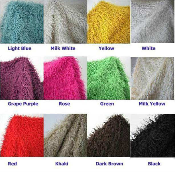 100*75cm Faux Fur Blanket For Babies Basket Stuffer Long Nap Mongolia Fur Photography Props Newborn Photography Props