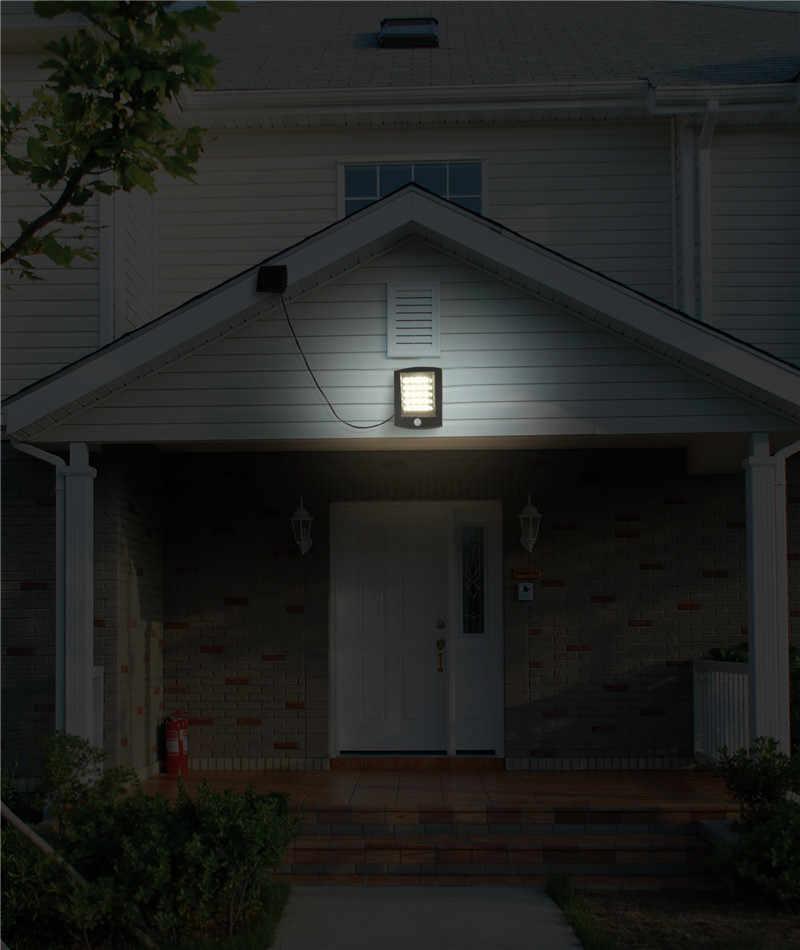 20 светодиодный солнечный датчик солнечный уличный фонарь с питанием от наружного освещения аварийные огни настенный светильник безопасности точечный свет