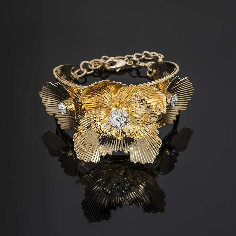 MUKUN turecki biżuteria moda Dubai zestawy biżuterii projekt 2018 nigeryjczyk afrykańskie koraliki biżuteria ślubna zestawy dla kobiet prezent ślubny