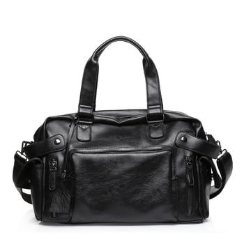 3de40deec170 ABDB-Высококачественная Мужская Дорожная сумка для отдыха мужская сумка  винтажная сумка на плечо мужская сумка-мессенджер