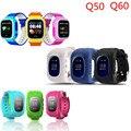 Q50 Smart Watch Kid Safe Gps-часы SOS Вызов Местоположение Трекера Q60 Часы GPS Anti Потерянный Монитор Младенца Q50 Q60 для Android IOS