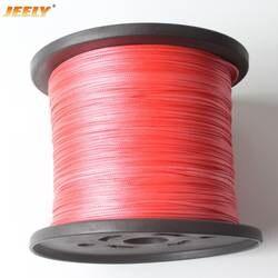 JEELY 0,8 мм 4 Ткань плетеные буксировочный трос лебедки СВМПЭ 70 кг 500 м Spectra