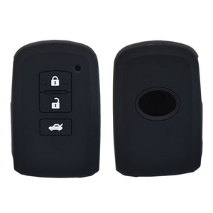 Image 3 - AX For Toyota Camry Corolla Avalon Rav4 Land Cruiser Car Remote Key Holder Protector 3 Button Silicone Key Fob Shell Cover Case