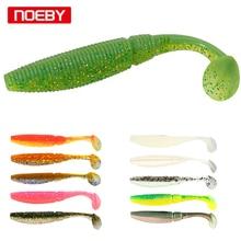 Noeby мягкие приманки 6 шт. 8,5 см 10 см Pesca Shad f приманка для UL рыболовный червь Swimbaits Jig Head Fly Fishing-Прямая поставка