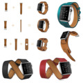 Hoco doble gira singe recorrido cuff banda de cuero para apple reloj serie 2 pulsera de cuero genuino para apple watch iwatch correas
