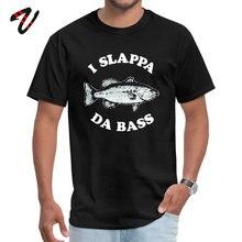 I Slappa Da Bass Mens Discount comfortable Tees O Neck Summer Fall 100% Cotton T-Shirt Europe Short Lean Tee Shirts