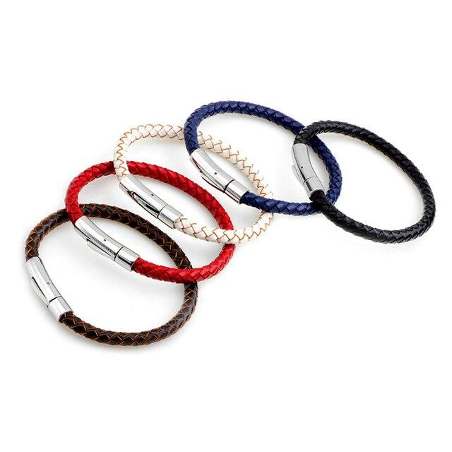 Купить браслет janeyacy из натуральной кожи для мужчин и женщин модное картинки