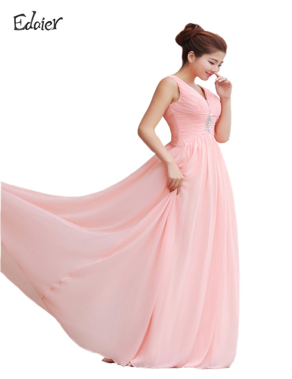 Magnífico Vestidos De Dama De Rosa Caliente Cresta - Colección de ...