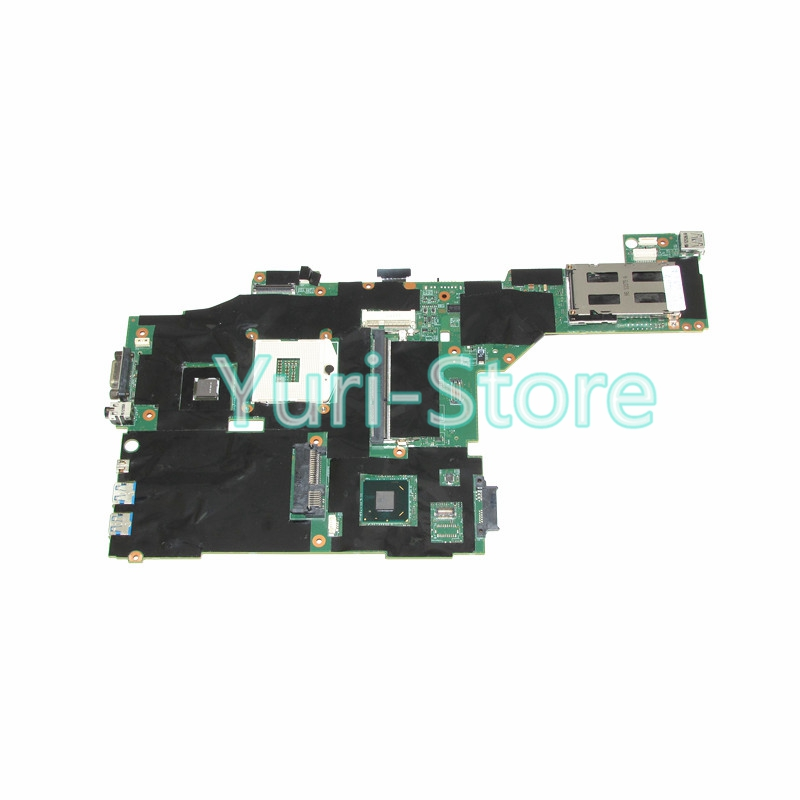 NOKOTION Laptop Motherboard For Lenovo thinkpad T430 Fru 04y1423 MAIN BOARD QM77 DDR3 NVS 5400M 1GB Video Card nokotion fru 04w6824 for lenovo thinkpad t530 laptop motherboard nvs 5400m graphics qm77 ddr3