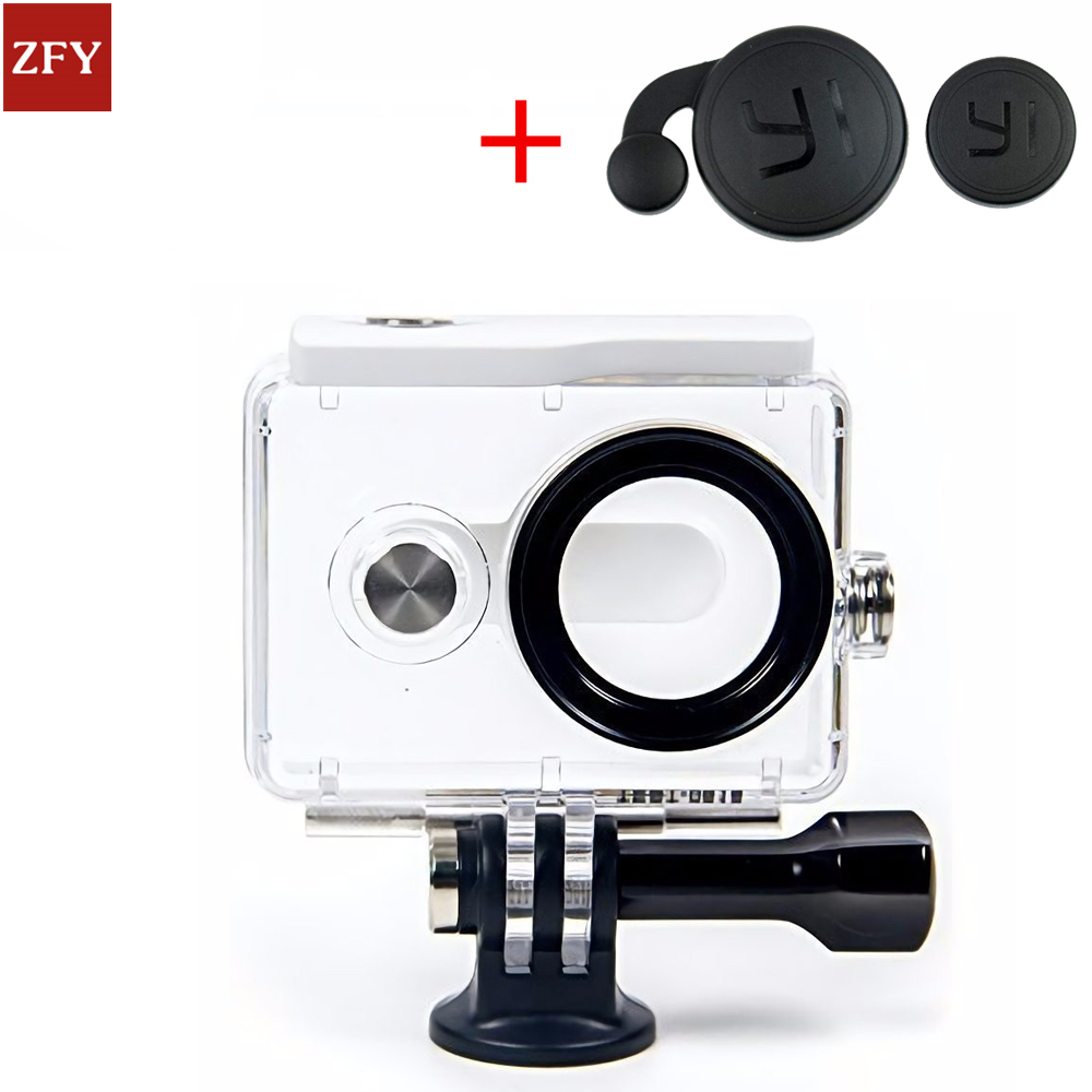 IN STOCK! NEW Original Waterproof Case for Xiaomi Yi Action Camera 40M Diving Sports Waterproof Box For Xiaoyi Camera xiaomi yi 40 yi xiaoyi waterproof case