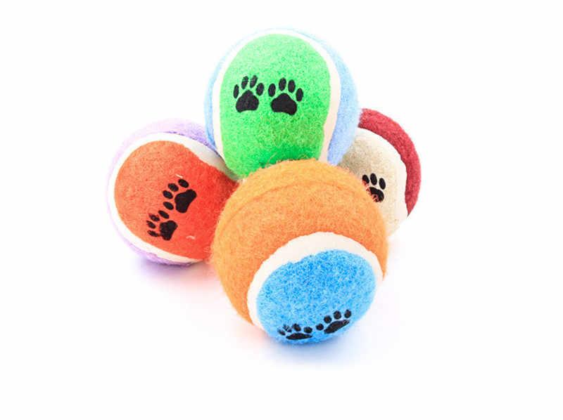 Домашними животными, котом, собакой; Жевательная для дрессировки игрушка, теннисный мяч Run поймать пледы игрушки-Жвачки играть щенок надувной мяч мягкий безопасности