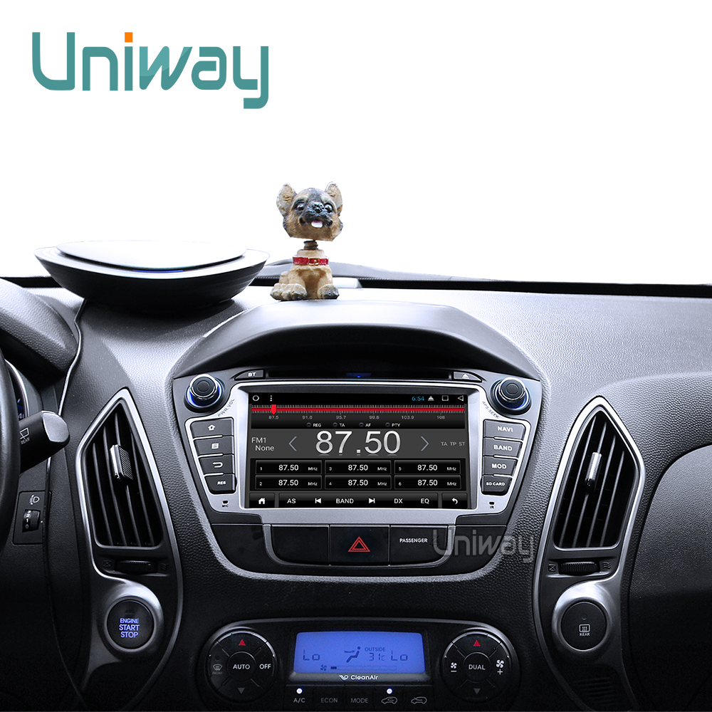 uniway ZIX357071 android 7.1 car dvd player gps for Hyundai IX35 Tucson  2009 2010 2011 2012 2013 stereo car navigation -in Car Multimedia Player  from ...