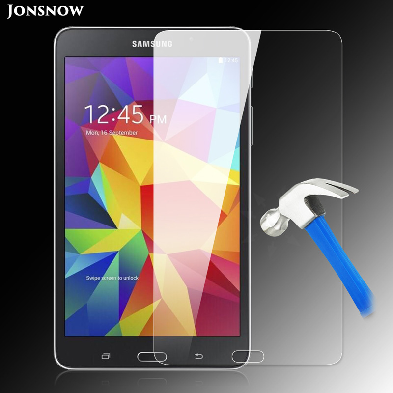9H Tempered Glass for Samsung Galaxy Tab 4 T230 T231 / T235 / 7 inch Prevent Scratch Tablet PC LCD Screen Protector Film JONSNOW stylish owl pattern flip open pu case w holder for 7 samsung galaxy tab 4 t230 t231 t235