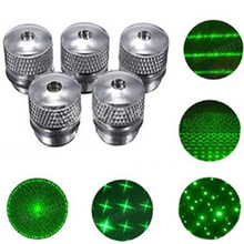 5pcs Green Laser Sight 303 CNC  Powerful device Adjustable Focus Lazer with Star Cap(Does not include laser)
