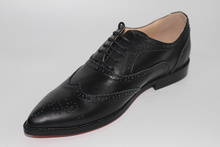 LTTL British Style Men Shoes Leather Oxford Shoes for Men Retro Brogues Men's Genuine Leather Dress Shoes Plus Size 10 11