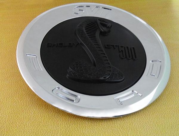 chrome Black snake COBRA for svt shelby GT500 GT 500 trunk Emblem Badge Sticker carnival is detonated the gt 500 shelby cobra muscle car jada 1 18 simulation models