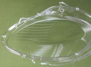 Image 4 - Per 06 08 Mercedes Benz classe R W251 R350 R500 del faro della lampada della copertura della lente di vetro di copertura della lampada del faro paralume trasparente 1 PCS