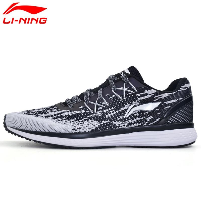 Li-Ning Hommes de 2017 Vitesse Étoiles chaussures de course à coussin Respirant tennis textile Doublure Lumière chaussures de sport ARHM063 XYP467
