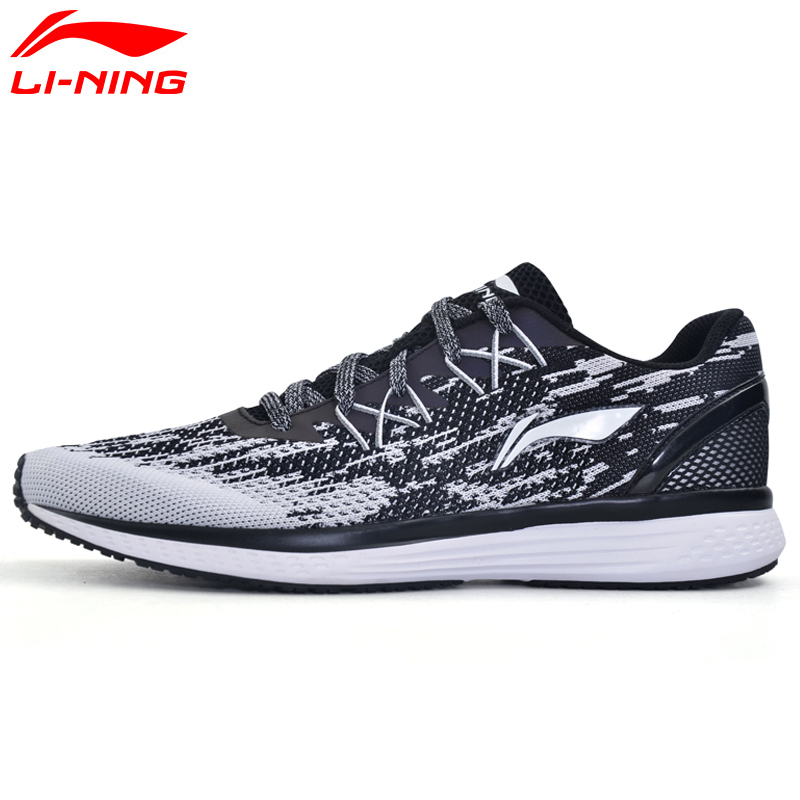 Li-Ning hombres 2017 velocidad estrella cojín zapatos Textil transpirable zapatillas de deporte luz forro Zapatos de deporte ARHM063 XYP467