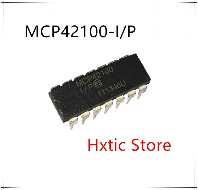 NEW 5PCS/LOT MCP42100-I/P MCP42100 MCP42100-I DIP-14 IC