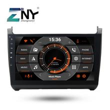 """10.1 """"IPS Android 9.0 Car Stereo GPS Per Polo Berlina 2012 2013 2014 2015 2016 2017 + Opzionale DSP /Carplay/DAB +/64 GB ROM/Pappagallo BT"""