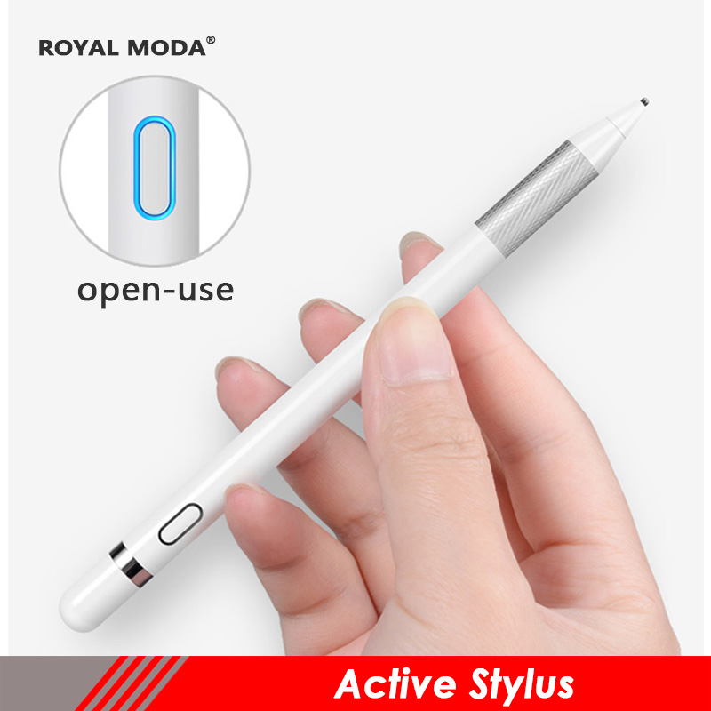 active stylus for apple pencil ipad pen touch pen for surface pen with note&drawing touch pencil for ipone smartphone touch pen