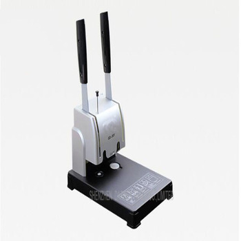 1PC GD-30Y  electric  book binding machine,financial credentials, document,archives binding machine,manual drill