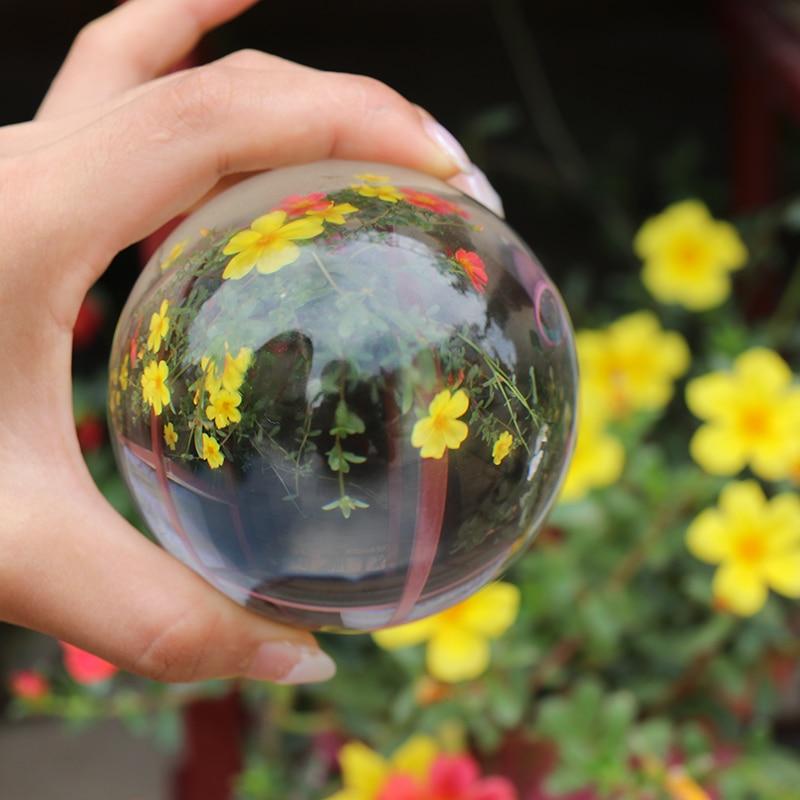 Crystal Healing Glass Ball Sphere 22