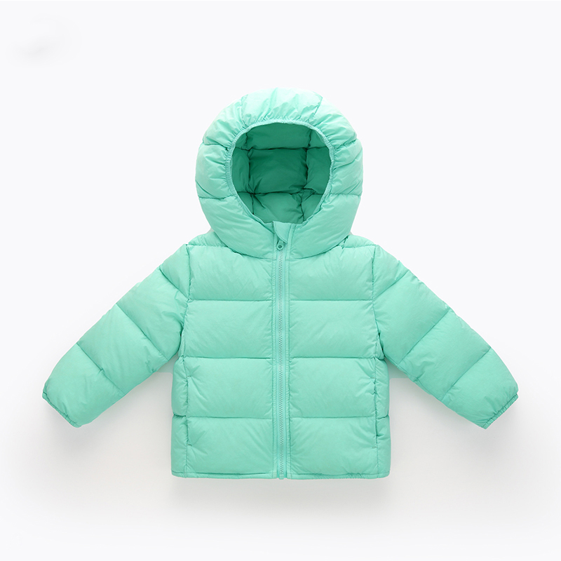 DEXIA Children Autumn and Winter Down Jacket High Quality Childen Fashion Solid Cotton Hooded Warm Coats Girls Winter Outwear winter men jacket new brand high quality candy color warmth mens jackets and coats thick parka men outwear xxxl