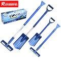 Tiptop New Arrival Home Car Snow Ice Scraper SnoBroom Snowbrush Shovel Removal Brush Set NOV8