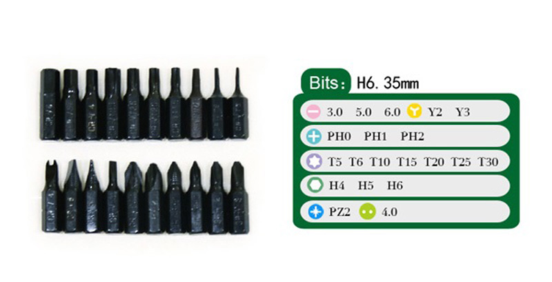 32 in1 Multifunctional Precision Mini Electronic Screwdriver Set For iPhone Laptop Repair Tool BST-2990B