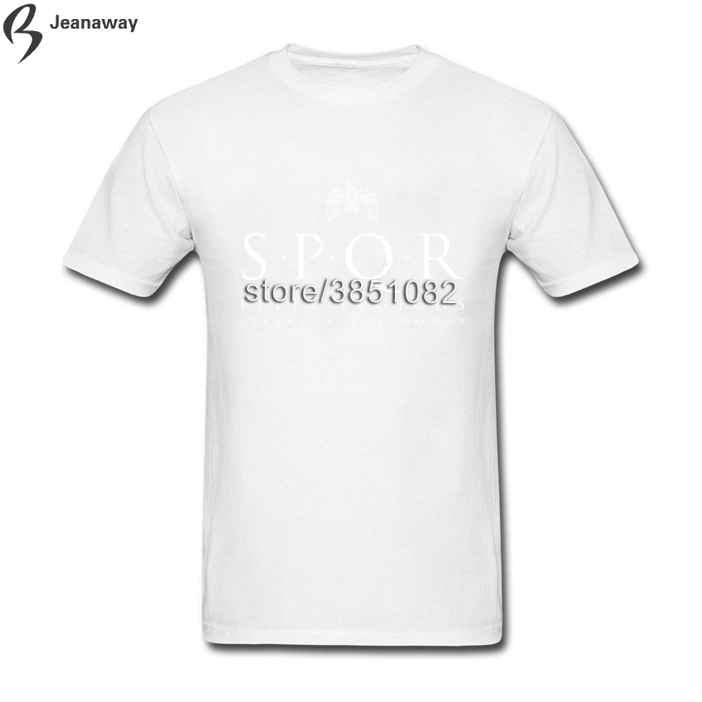 3118ebab796 Tees Top Top Design SPQR Roman Empire Army Men Tshirt Black Short Sleeve  Custom Solid Tops Tees-in T-Shirts from Men s Clothing on Aliexpress.com