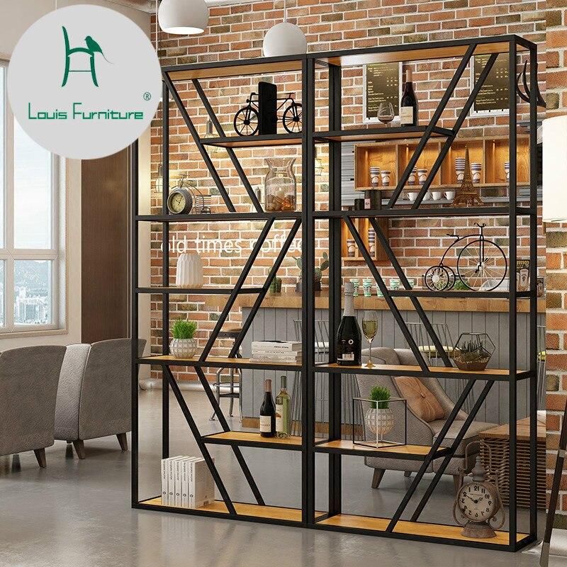 330 16 Louis Mode Mazagine Etageres Simple Bibliotheque En Bois Massif Cloison De Separation Plancher Salon In Bibliotheques From Meubles On
