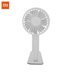 Xiaomi Mijia оригинальный VH вентилятор портативный ручной с перезаряжаемым встроенным аккумулятором 2000 mAUSB порт удобный мини-вентилятор для умн...