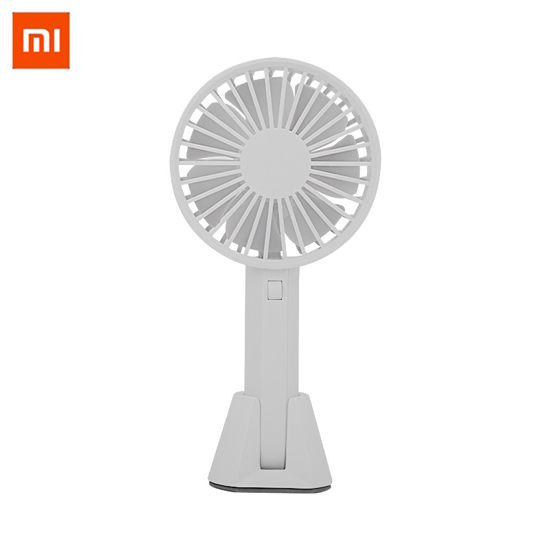 Xiaomi Mijia Original VH fan Portable Handheld With Rechargeable Built-in Battery 2000mAUSB Port Handy Mini Fan For Smart Home mini usb fan portable handhold fan with rechargeable built in battery usb port design handy mini fan for smart home