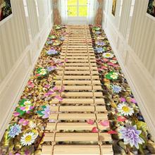 3D Creative Door Mat Plant Carpet Printing Hallway Carpets Bedroom Living Room Tea Table Rugs Kitchen Bathroom Antiskid Mats