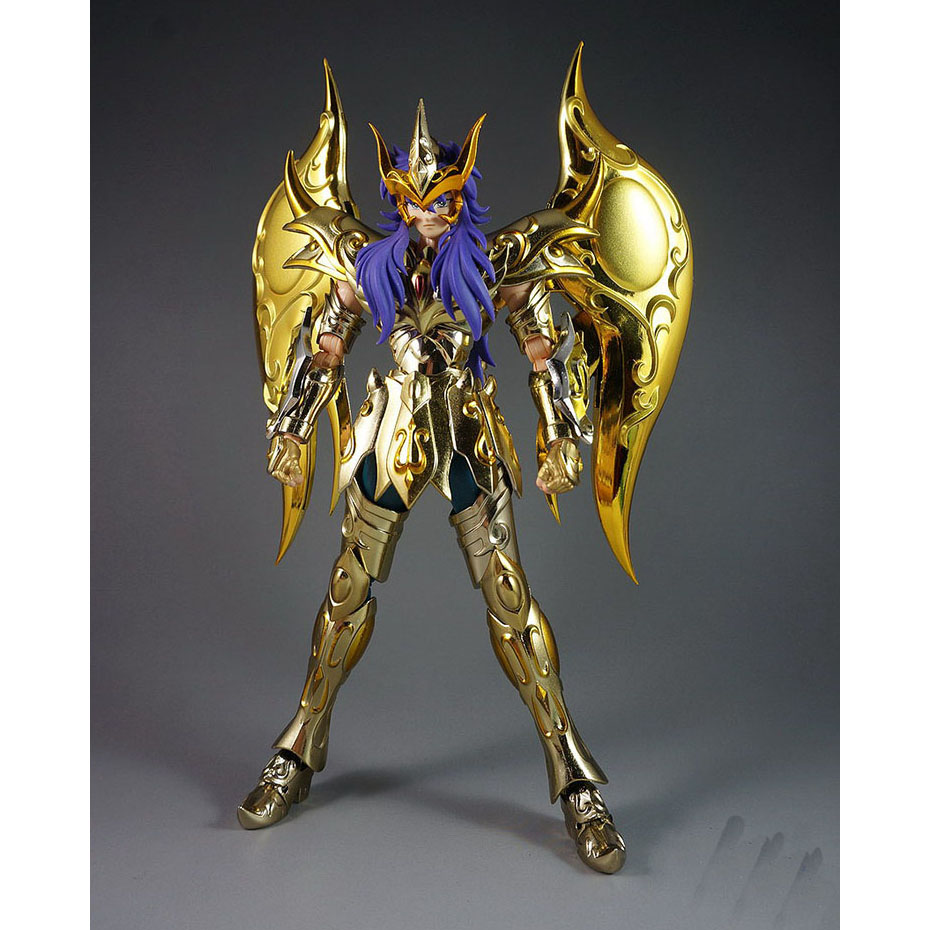 CMT Great Toys GT Ex Scorpio Milo Soul of Gold Gud Saint Seiya Metal - Toy figuriner - Foto 2