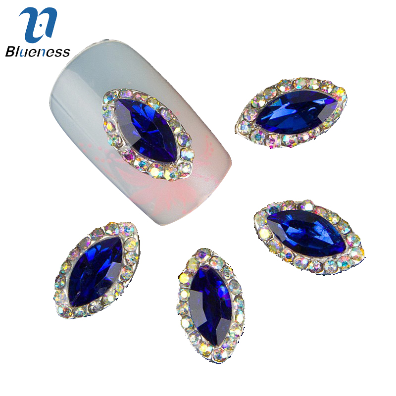 10pc Glitter Rhinestones 3d Metal Alloy Nail Art Decorations New Arrive,Alloy Nail Charms, Jewelry on Nails Salon Supplies TN273 10psc new pearl colored flow glitter rhinestones 3d nail art decorations alloy nail charms nails rhinestones nail supplies 687