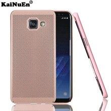 kainuen Original luxury pc Super Thin Unique Thermal Design phone etui,coque,cover,case for samsung galaxy a5 2017 a520 back
