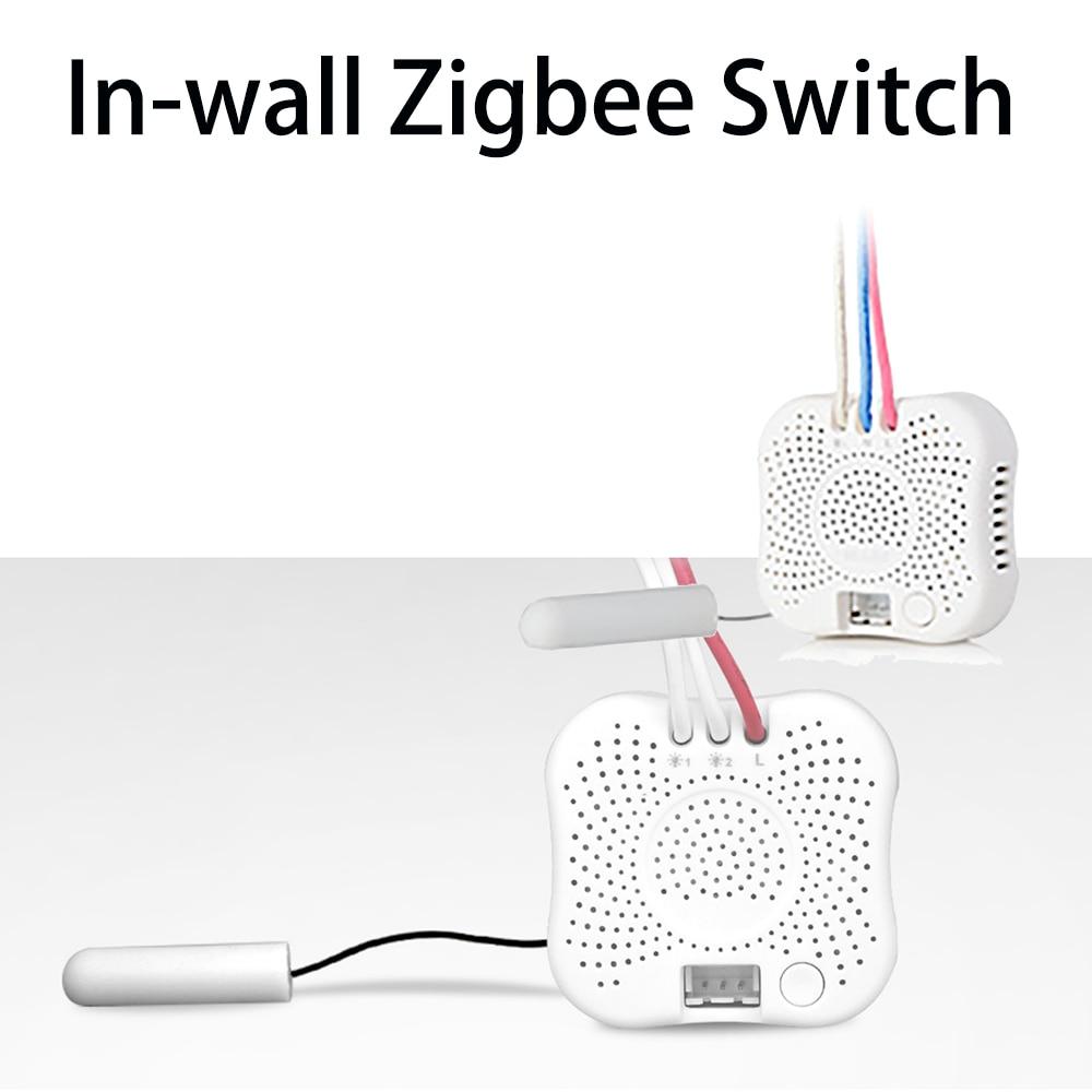 In-wall Interruptor interruptores de transformar o tradicional com fio único ao vivo para ser smart switches Zigbee conectar com ORVIBO Zigbeehub