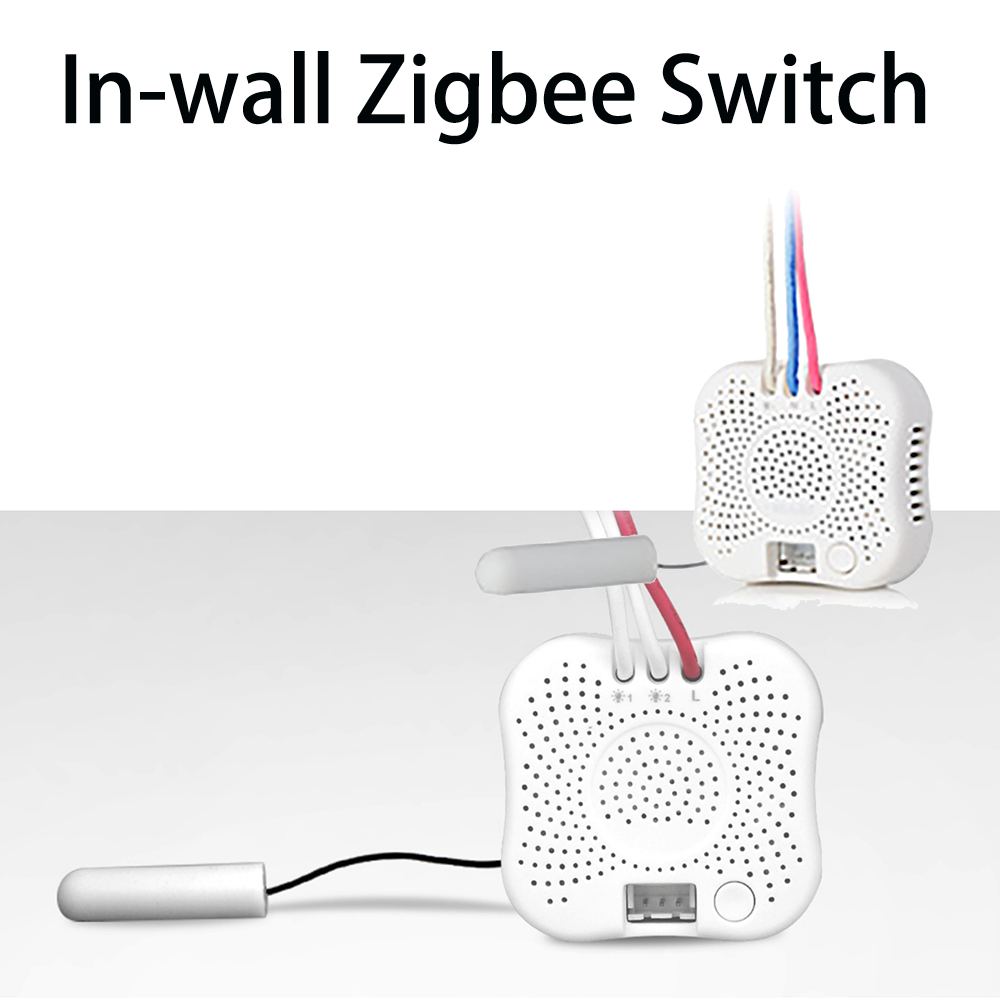In-wall Switch Transform The Traditional Wired Single Live Switches To Be Smart Zigbee Switches Connecting With ORVIBO Zigbeehub