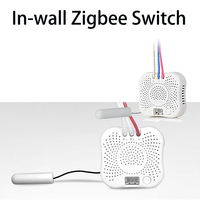 In wall Switch transform the traditional wired single live switches to be smart Zigbee switches connecting with ORVIBO Zigbeehub