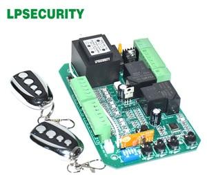 Image 5 - 게이트 모터 컨트롤러 회로 보드 슬라이딩 게이트 오프너 용 전자 카드 소프트 스타트 기능 보행자 모드 110V 또는 220V