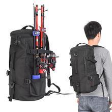 23L Multifunctional Fishing Gear Backpack Large Capacity Wat
