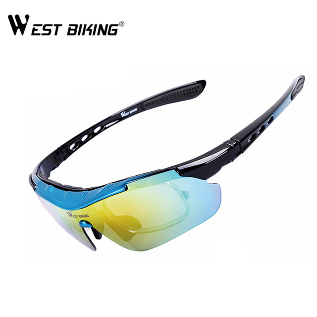 aa28a165ffc Cycling Bicycle Sunglasses Polarized Glasses 5 lens Oculos Ciclismo Gafas  Outdoor MTB Road Bike Lunette Cyclisme