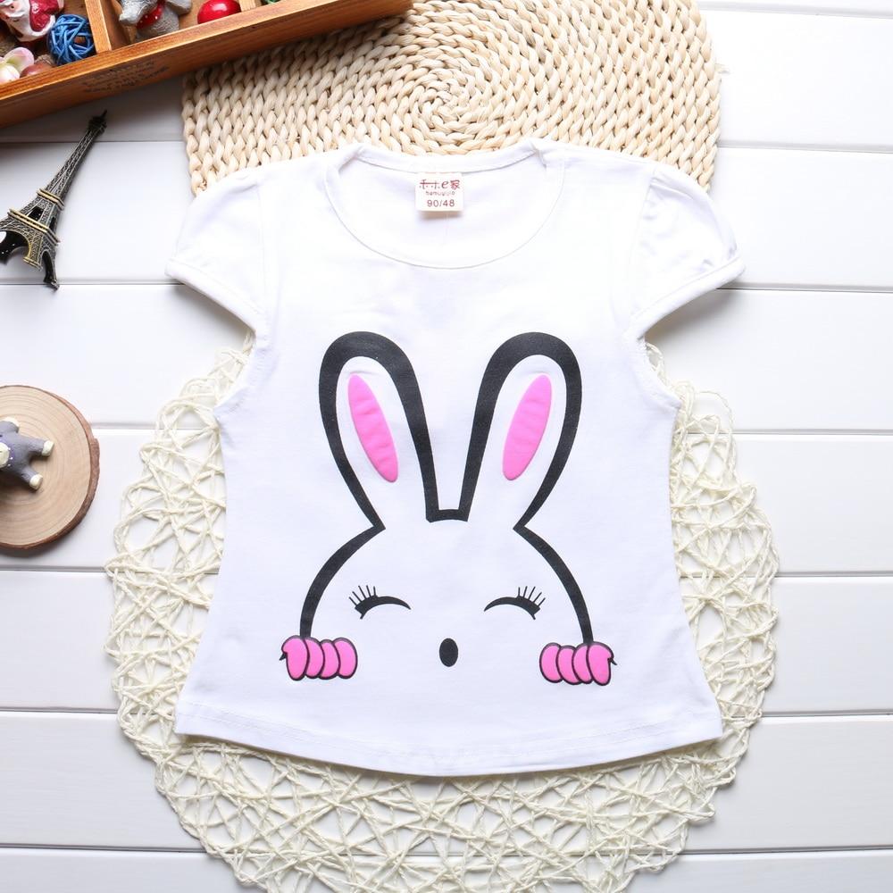 New-2017-Summer-Baby-Girls-Short-Sleeve-T-shirt-Children-Clothes-Kids-Tops-T-Shirts-Cute-bunny-Print-Tees-100-Cotton-HZ2010-1