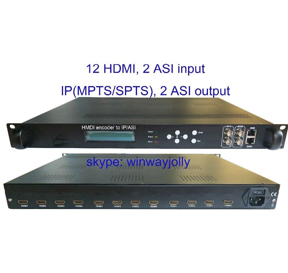 12 HDMI per ASI encoder, 1080 P Multi-Canali encoder, ingresso HDMI e IP/ASI uscita, HDMI per IP encoder12 HDMI per ASI encoder, 1080 P Multi-Canali encoder, ingresso HDMI e IP/ASI uscita, HDMI per IP encoder