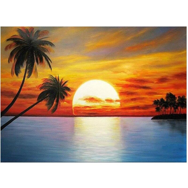 Achetez en Gros lever du soleil paysage en Ligne à des ...