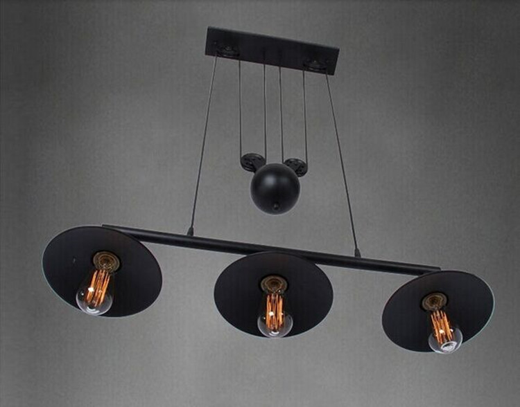 3 Heads Pulley Lights with bulbs3 Heads Pulley Lights with bulbs
