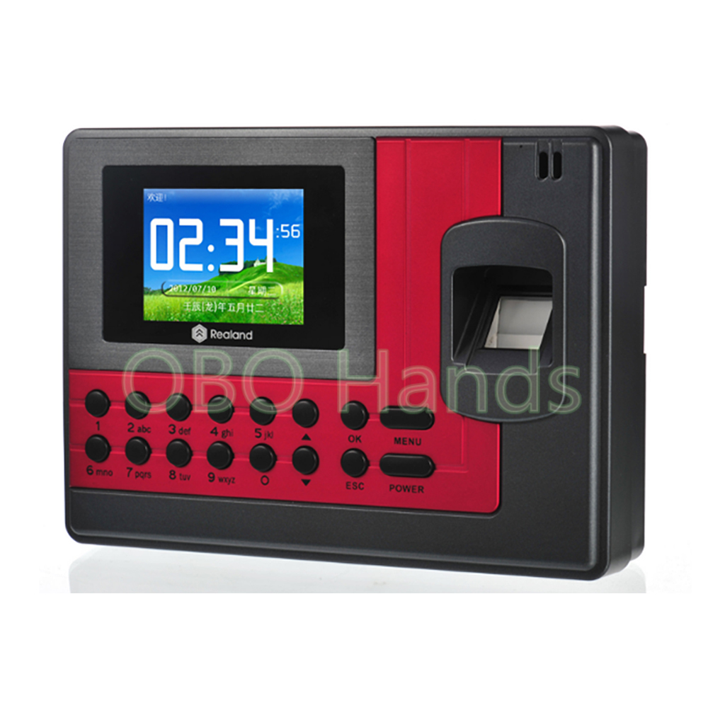 Realand biometric identification fingerprint scanner/fingerprint reader time attendance/fingerprint access control system A-C110 biometric fingerprint access controller tcp ip fingerprint door access control reader